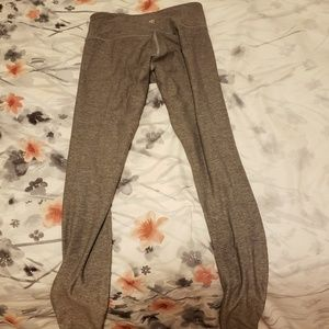 Grey lulu lemon yoga pants